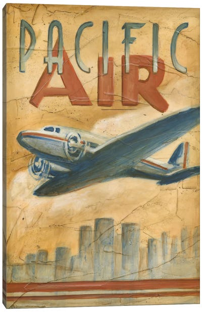 Pacific Air Canvas Art Print