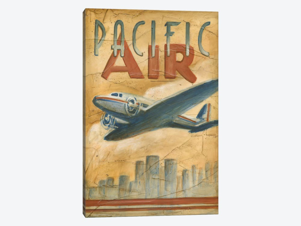 Pacific Air 1-piece Canvas Art Print
