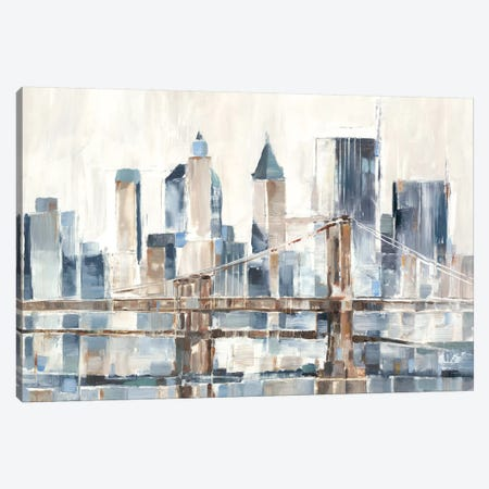 Blue Hour I Canvas Print #EHA662} by Ethan Harper Canvas Art