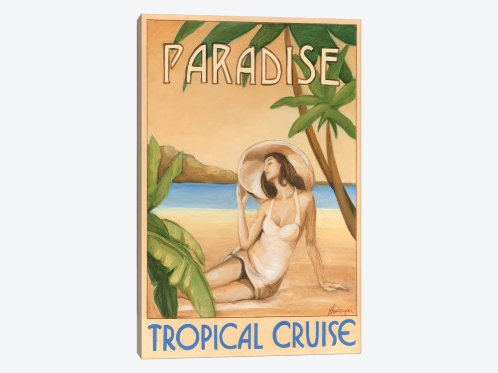 Paradise by Ethan Harper 1-piece Canvas Art