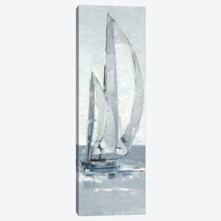 Grey Seas II Canvas Print #EHA670} by Ethan Harper Art Print