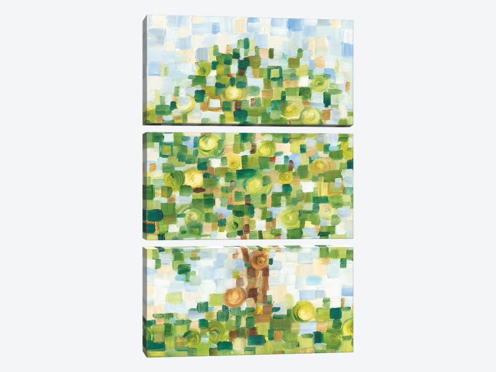 Quilted Tree I by Ethan Harper 3-piece Art Print