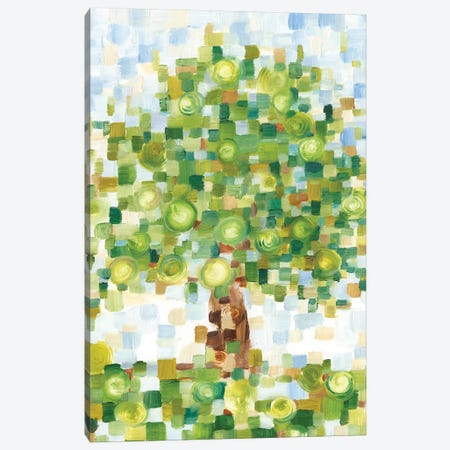 Quilted Tree II Canvas Print #EHA672} by Ethan Harper Canvas Art Print