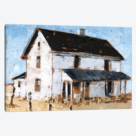 Abandoned Farmhouse I Canvas Print #EHA691} by Ethan Harper Canvas Print