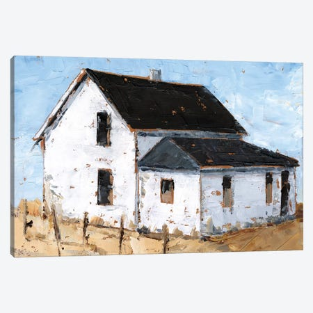 Abandoned Farmhouse II Canvas Print #EHA692} by Ethan Harper Canvas Print