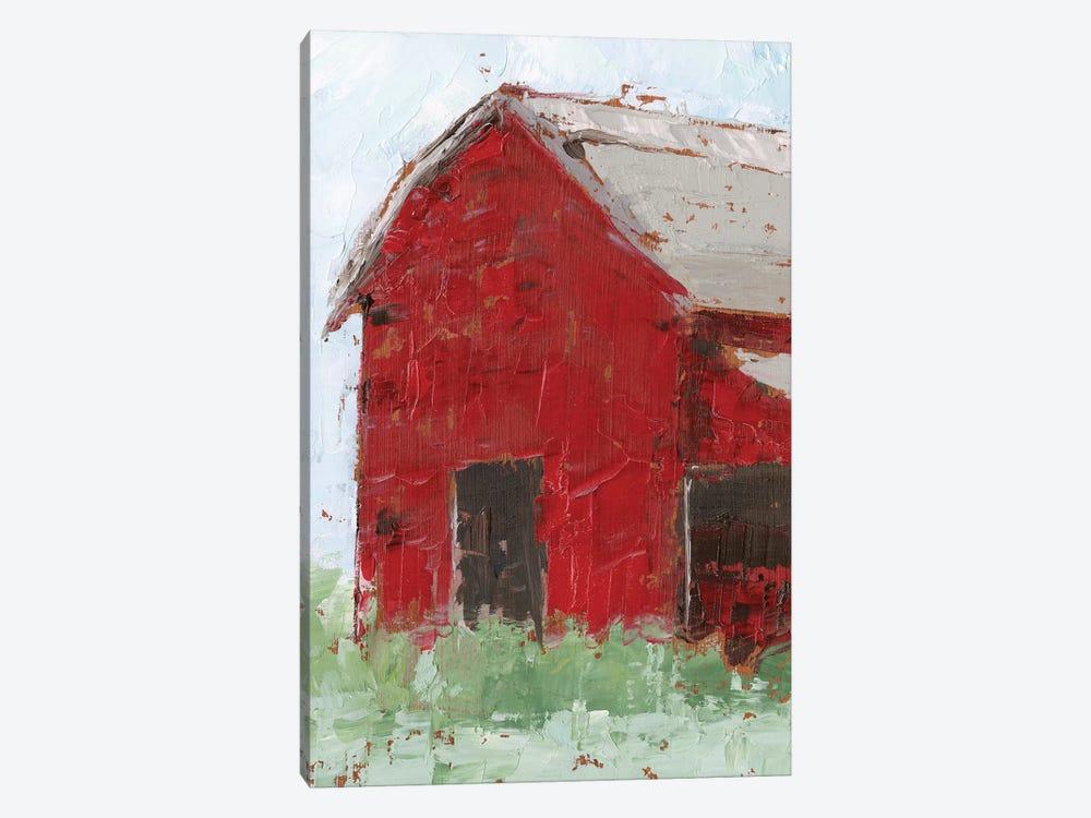 Big Red Barn II by Ethan Harper 1-piece Canvas Art