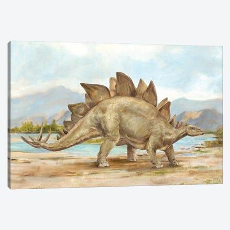 Dinosaur Illustration I Canvas Print #EHA703} by Ethan Harper Canvas Art Print