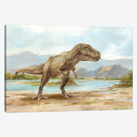 Dinosaur Illustration III Canvas Print #EHA705} by Ethan Harper Canvas Art