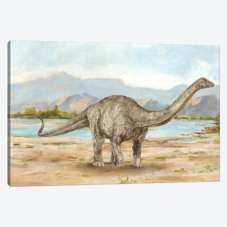 Dinosaur Illustration V Canvas Print #EHA707} by Ethan Harper Canvas Artwork