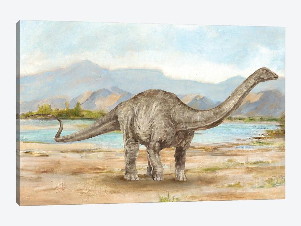Dinosaur Illustration V by Ethan Harper 1-piece Canvas Print