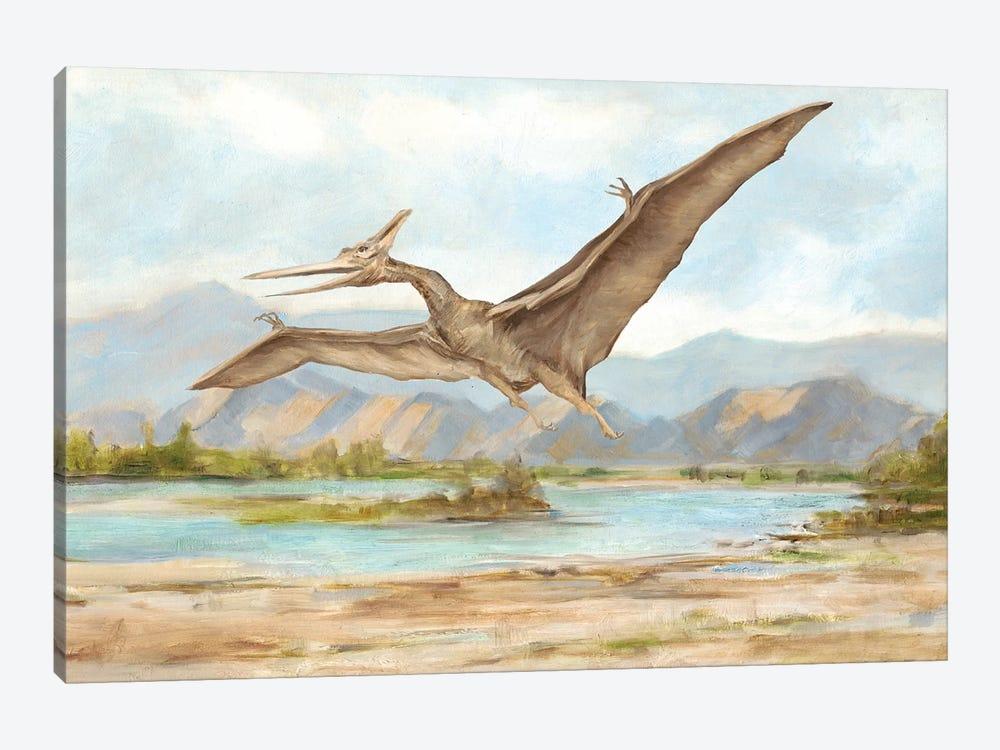Dinosaur Illustration VI by Ethan Harper 1-piece Canvas Artwork