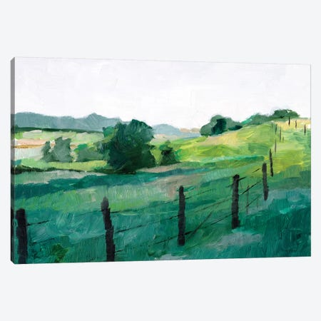 Fence Line I Canvas Print #EHA715} by Ethan Harper Art Print