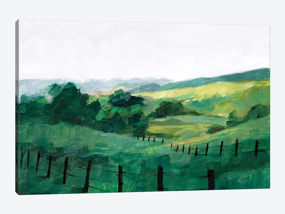 Fence Line II by Ethan Harper 1-piece Canvas Print