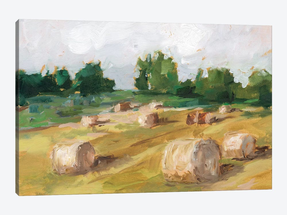 Hay Field I by Ethan Harper 1-piece Canvas Art