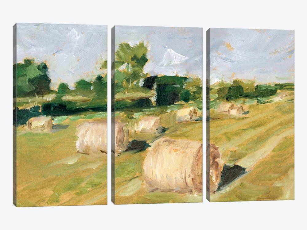 Hay Field II by Ethan Harper 3-piece Art Print