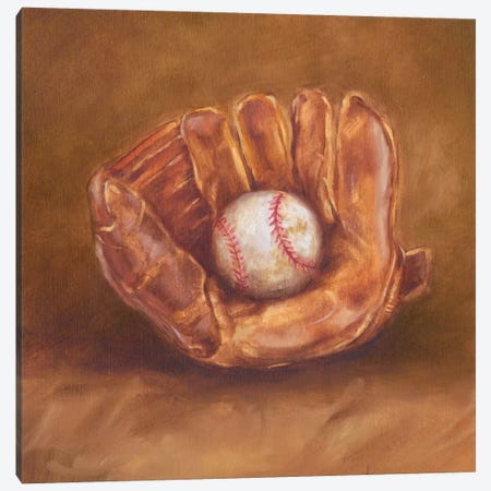 Rustic Sports III Canvas Print #EHA71} by Ethan Harper Canvas Artwork