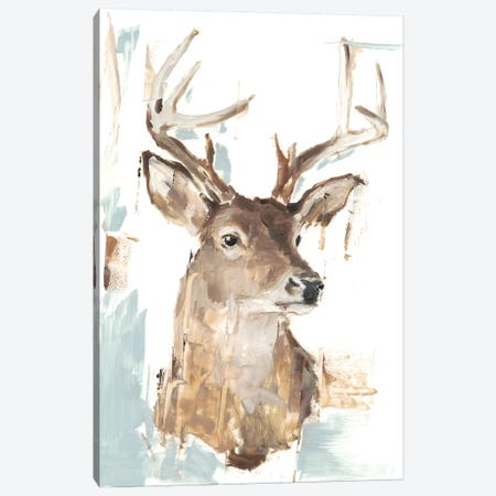 Modern Deer Mount I 3-Piece Canvas #EHA721} by Ethan Harper Art Print