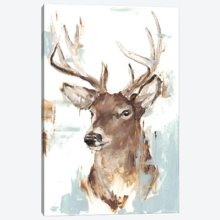 Modern Deer Mount II 3-Piece Canvas #EHA722} by Ethan Harper Art Print