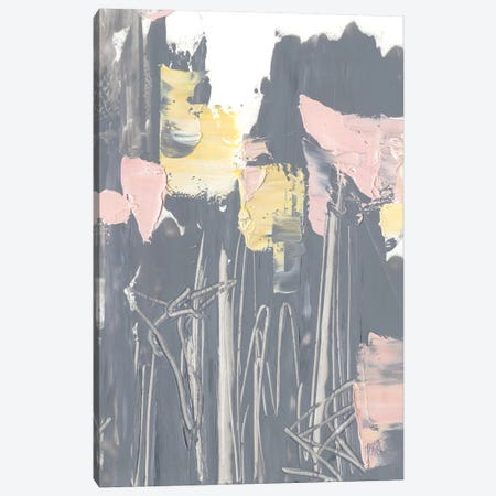 Pink & Yellow Flowers I 3-Piece Canvas #EHA729} by Ethan Harper Canvas Print