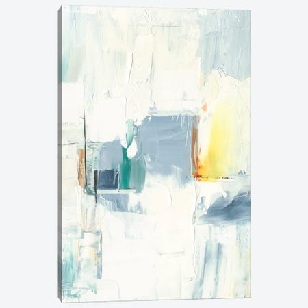 Rainy City I Canvas Print #EHA733} by Ethan Harper Canvas Art