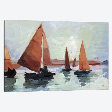 Sunset Harbor I Canvas Print #EHA741} by Ethan Harper Canvas Print