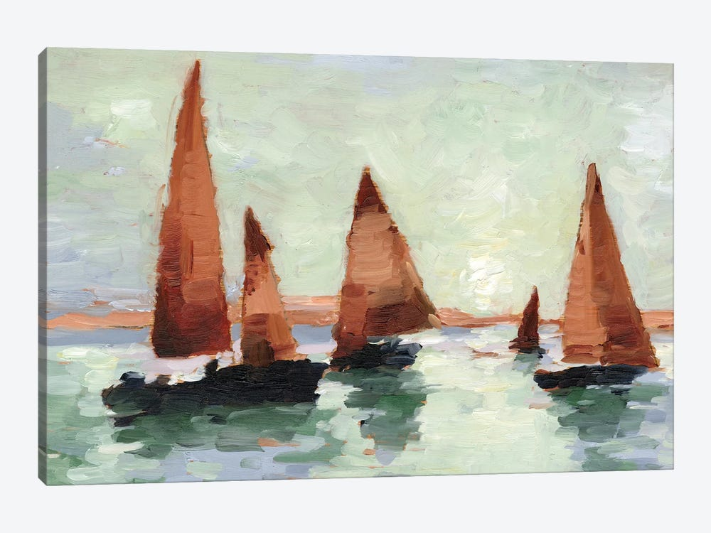 Sunset Harbor II by Ethan Harper 1-piece Canvas Wall Art