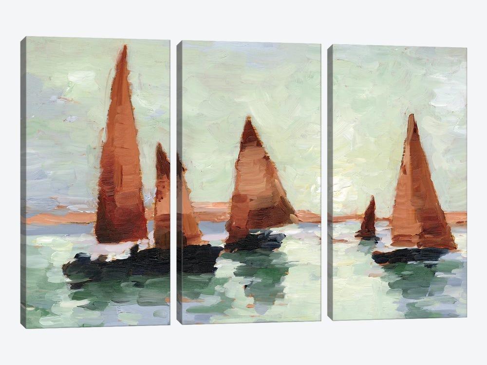 Sunset Harbor II by Ethan Harper 3-piece Canvas Art