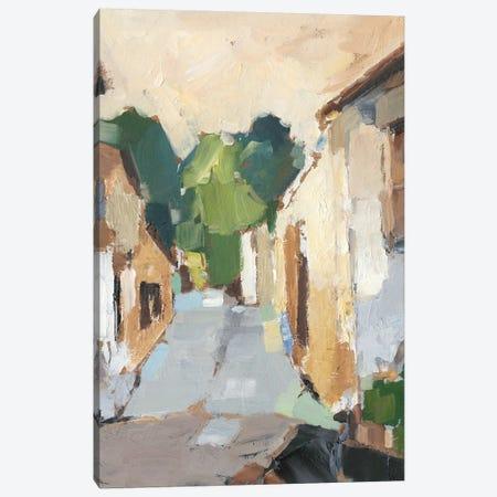 Village Streets I Canvas Print #EHA747} by Ethan Harper Canvas Artwork
