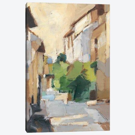 Village Streets II Canvas Print #EHA748} by Ethan Harper Art Print