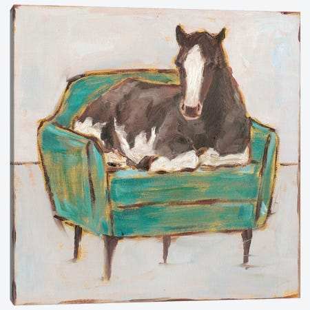 Creature Comforts I Canvas Print #EHA760} by Ethan Harper Art Print