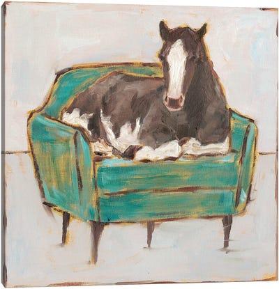 Creature Comforts I Canvas Art Print