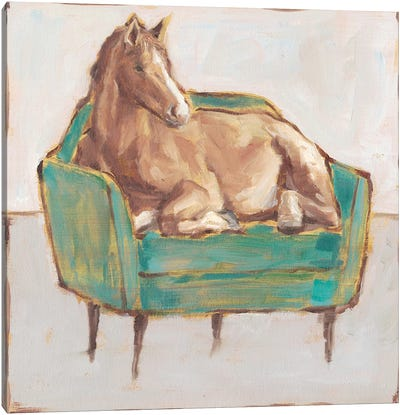 Creature Comforts II Canvas Art Print