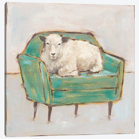 Creature Comforts IV 3-Piece Canvas #EHA763} by Ethan Harper Art Print
