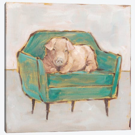 Creature Comforts V Canvas Print #EHA764} by Ethan Harper Canvas Art