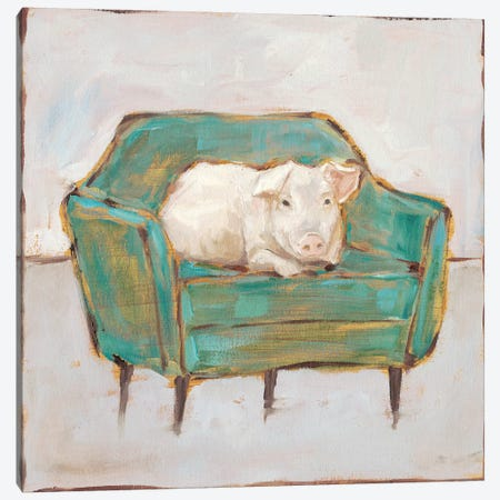 Creature Comforts VI Canvas Print #EHA765} by Ethan Harper Canvas Wall Art