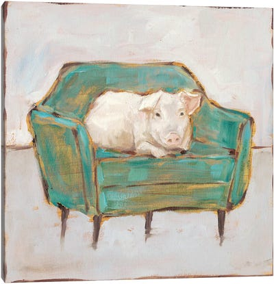 Creature Comforts VI Canvas Art Print