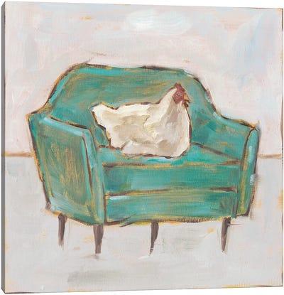 Creature Comforts VII Canvas Art Print