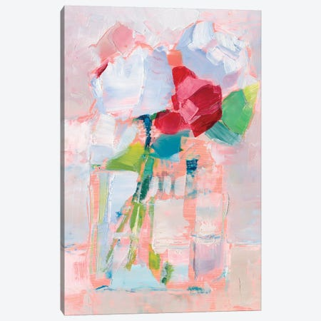 Abstract Flowers in Vase I Canvas Print #EHA775} by Ethan Harper Canvas Art Print