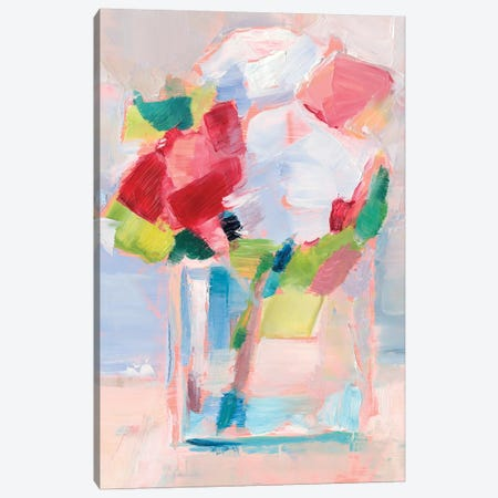 Abstract Flowers in Vase II Canvas Print #EHA776} by Ethan Harper Art Print