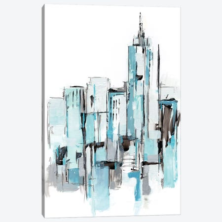 Blue City I Canvas Print #EHA777} by Ethan Harper Canvas Art Print