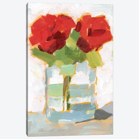 Cut Roses I Canvas Print #EHA787} by Ethan Harper Canvas Art