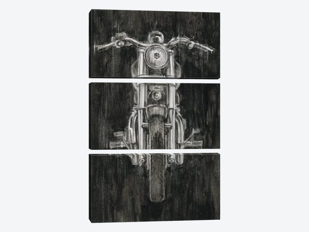 Steel Horse II by Ethan Harper 3-piece Canvas Print