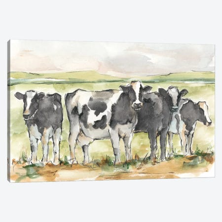 Field Days I Canvas Print #EHA795} by Ethan Harper Art Print