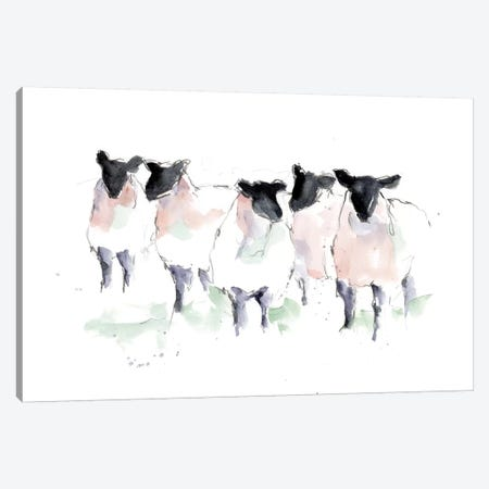 Minimalist Watercolor Sheep I Canvas Print #EHA803} by Ethan Harper Canvas Artwork