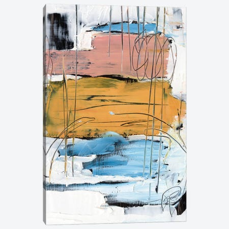 Stacked Together I Canvas Print #EHA809} by Ethan Harper Canvas Artwork