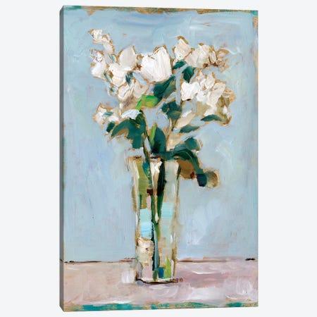 White Floral Arrangement I Canvas Print #EHA815} by Ethan Harper Canvas Art