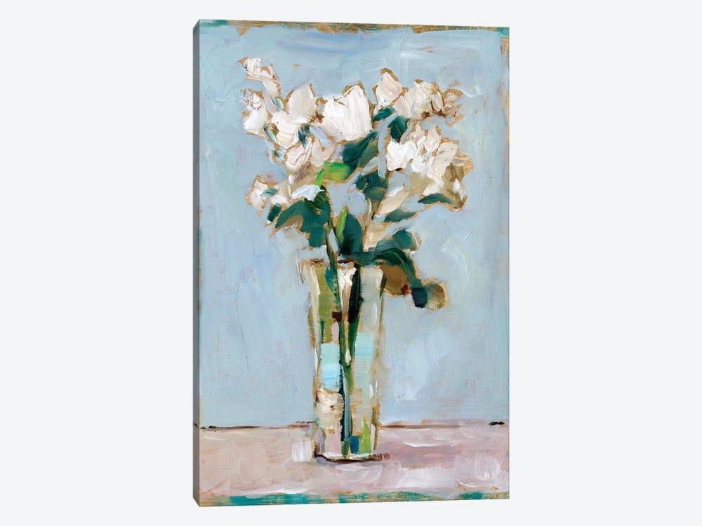White Floral Arrangement I by Ethan Harper 1-piece Canvas Art