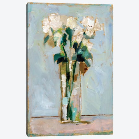 White Floral Arrangement II Canvas Print #EHA816} by Ethan Harper Canvas Art