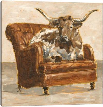 Refined Comfort I Canvas Art Print