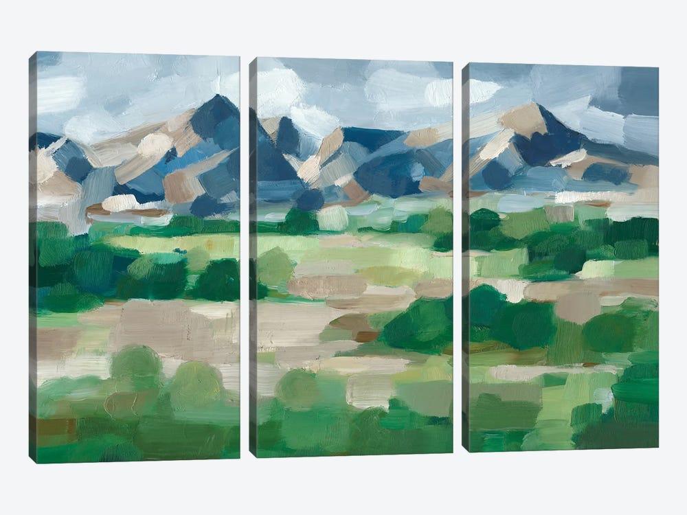 Blue Ridge Valley II by Ethan Harper 3-piece Canvas Wall Art